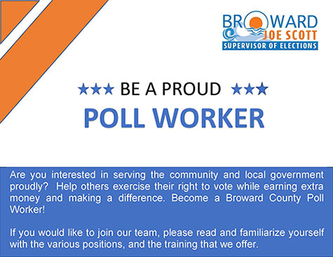 Become an Election Day Worker